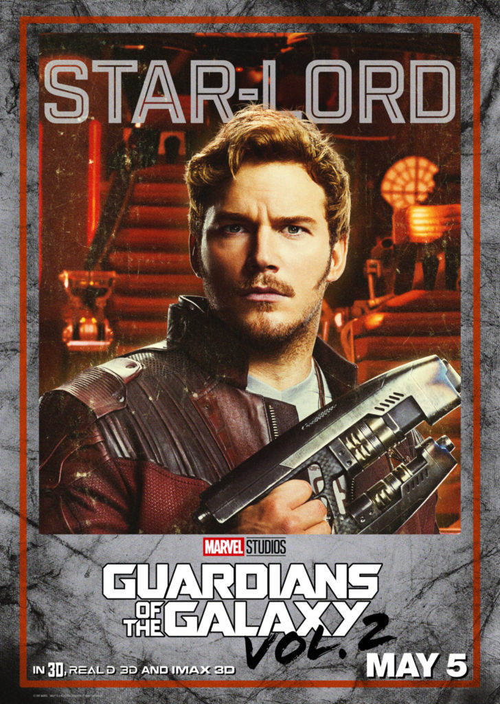 Guardians of the Galaxy Chris Pratt as Star-Lord / Peter Quill