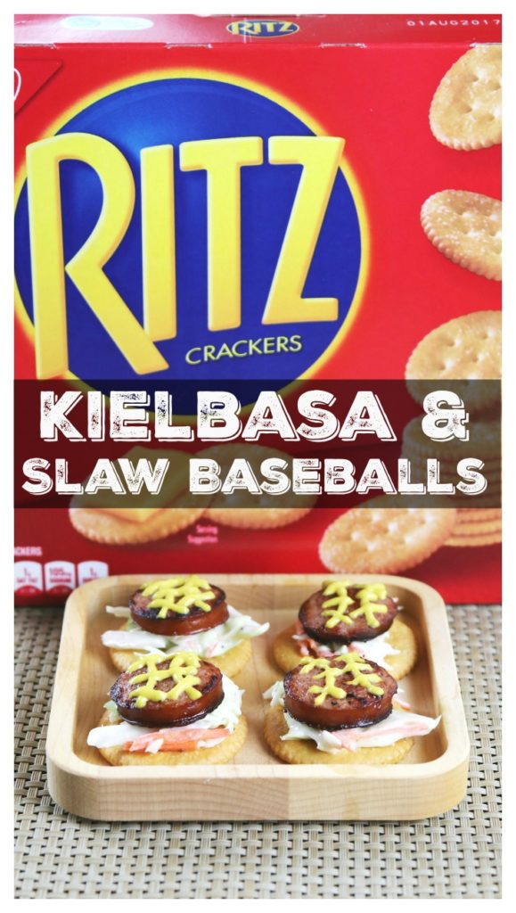 "Kielbasa & Slaw ""Baseballs"" Pin"