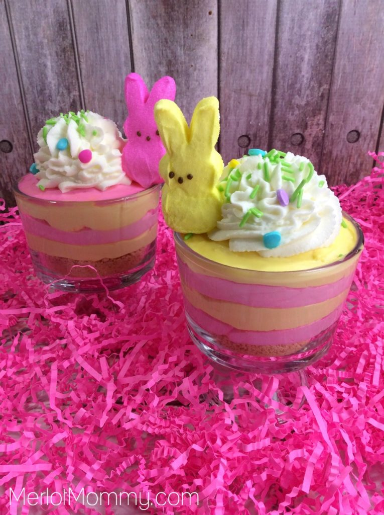 Peeps Cheesecake Cups