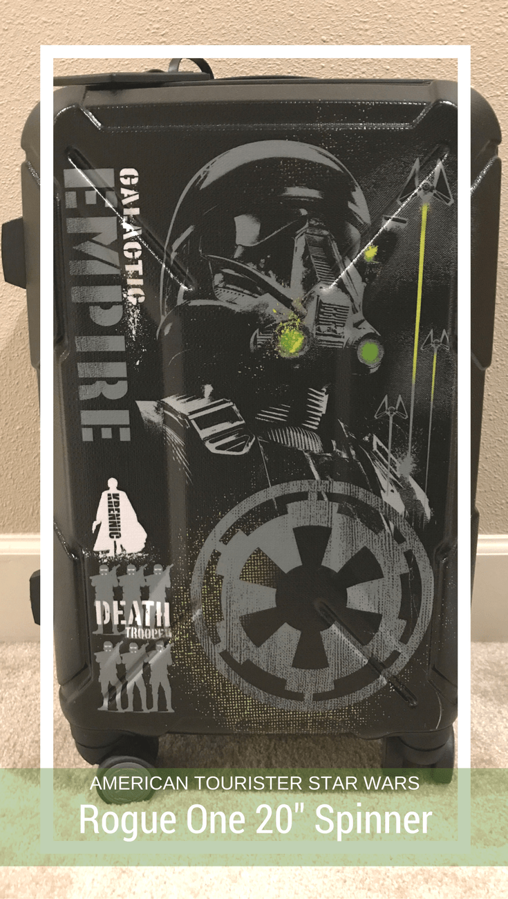 """American Tourister Star Wars Rogue One 20"""" Spinner, Star Wars Luggage"""