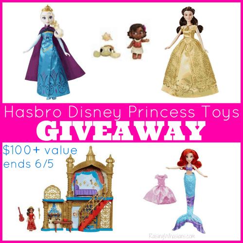 Enter to Win a Hasbro Disney Princess Toys Prize Pack - $100+ Value