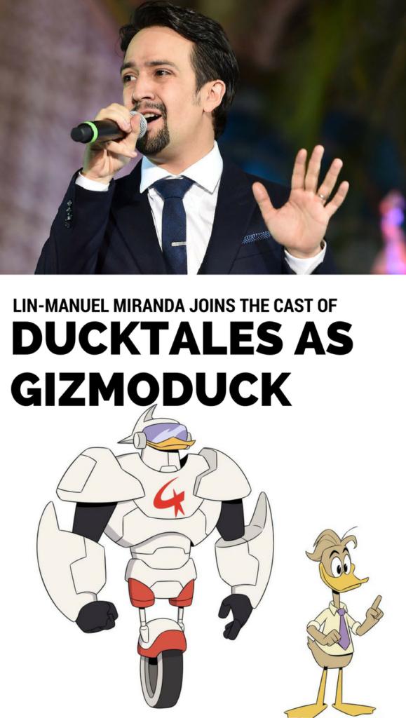 Lin-Manuel Miranda Joins All-Star Cast of Disney XD's 'DuckTales'