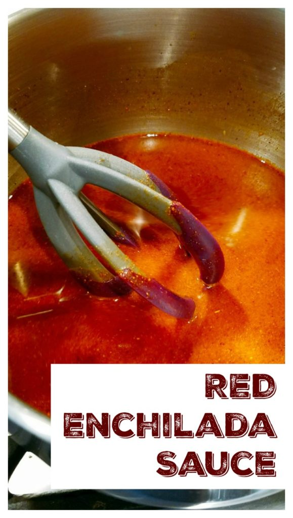 Red Enchilada Sauce Pin