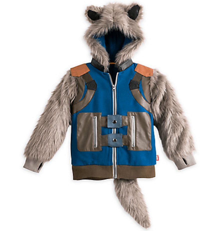 Rocket Raccoon Hooded Costume Jacket for Boys