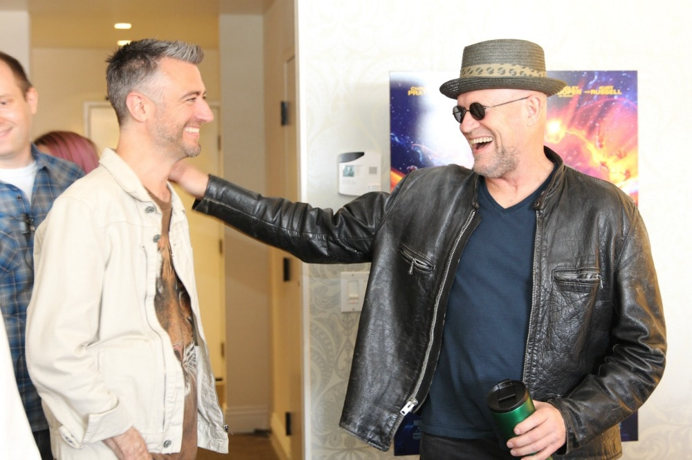 Michael Rooker and Sean Gunn Exclusive Interview