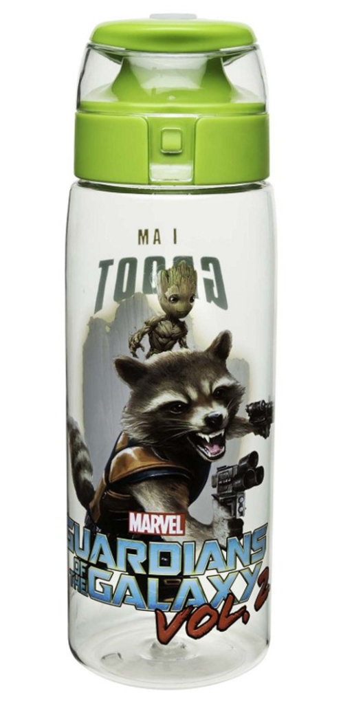 Guardians of the Galaxy 2 Water Bottle with Loop
