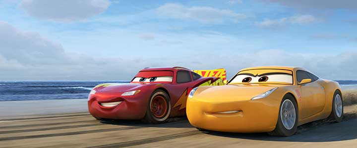 Cars 3 is Now on Blu-Ray and Digital