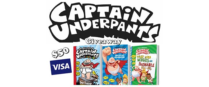 Win a Captain Underpants Prize Pack
