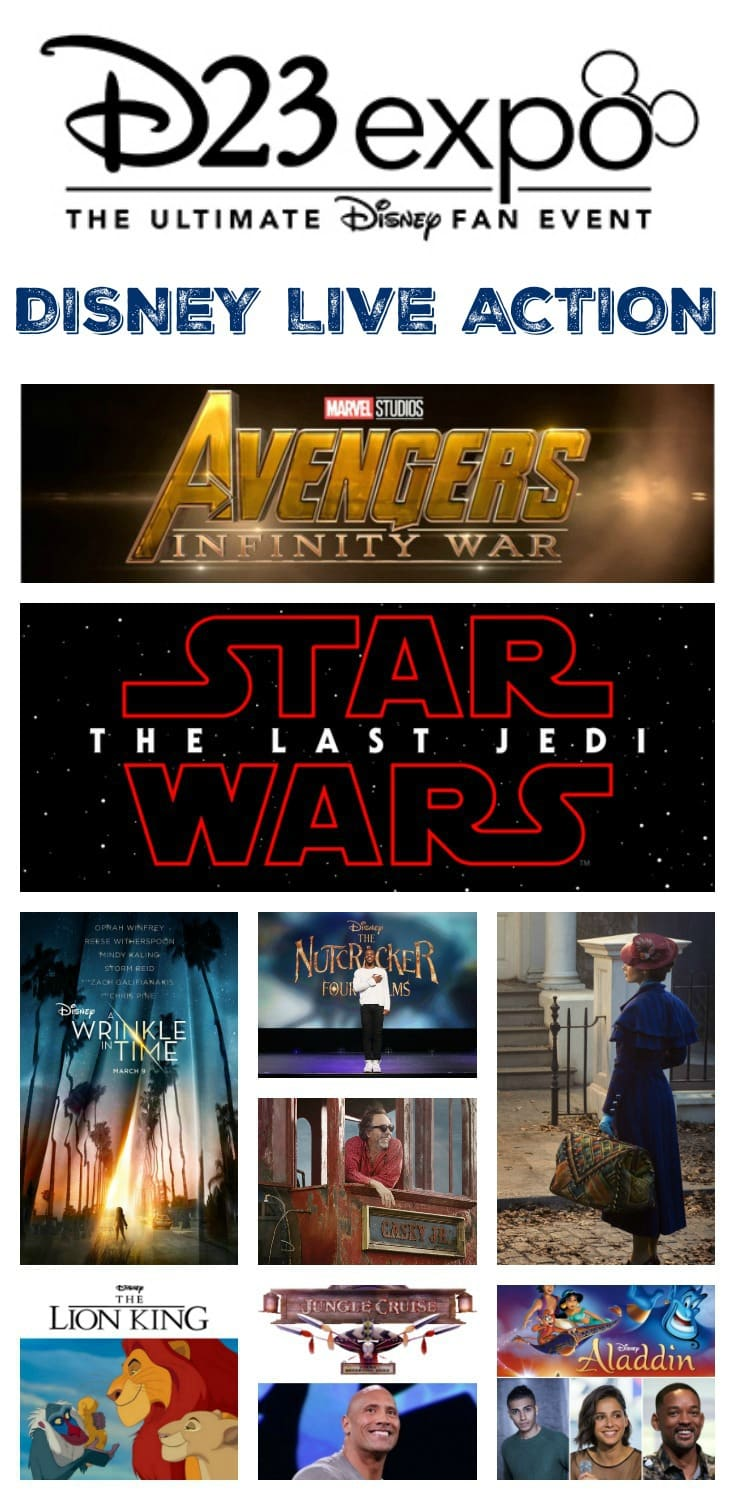 Upcoming Live Action Disney Movies: Upcoming Disney, Marvel Studios, And LucasFilm Live-Action