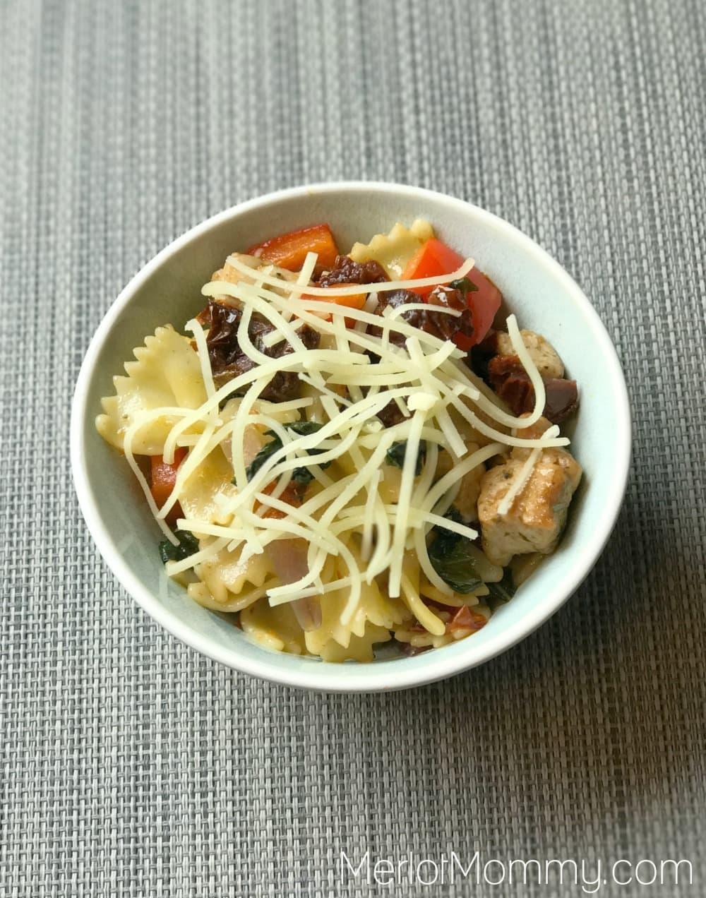 Italian Pasta and Pork Stir Fry