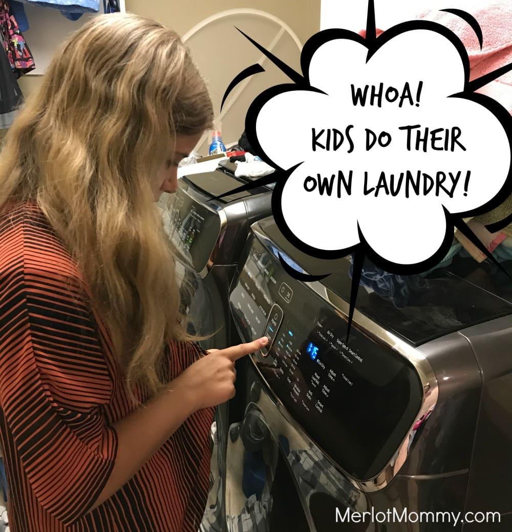 Samsung FlexWash and FlexDry Laundry Pair for Modern Families