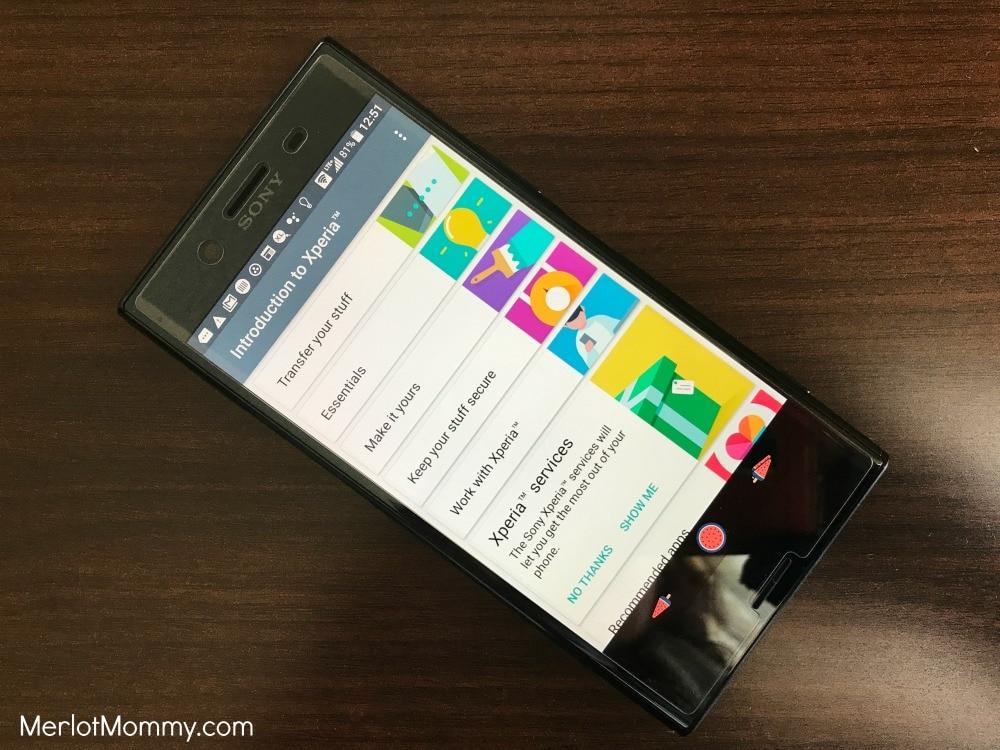 Sony Xperia XZ Premium from Best Buy