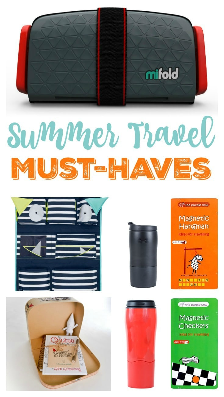 Summer Travel Must-Haves: the list of top travel gear for your summer travel needs