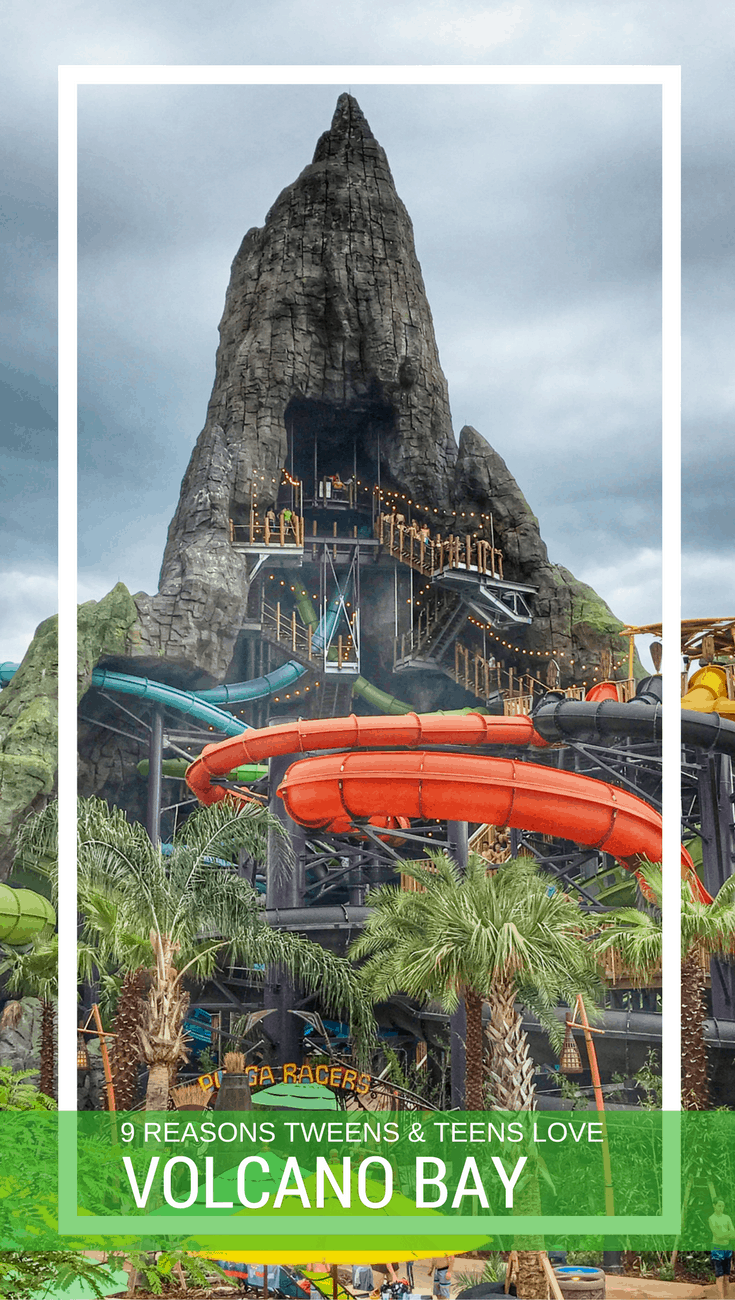 9 Reasons Volcano Bay is Perfect for Tweens and Teens