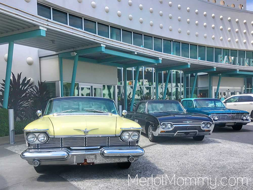 Cabana Bay Beach Resort cars