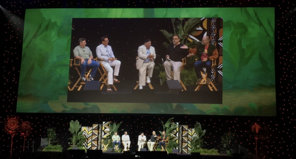 Lion King on Blu-Ray and D23 Panel Recap
