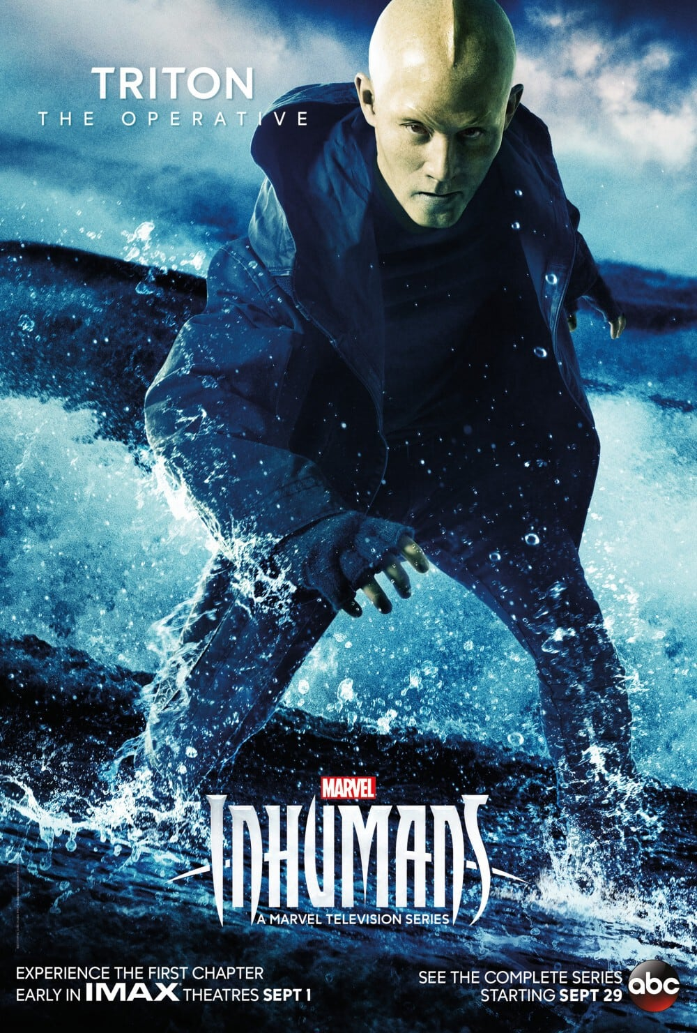 Marvel's Inhumans - New Character Poster Triton