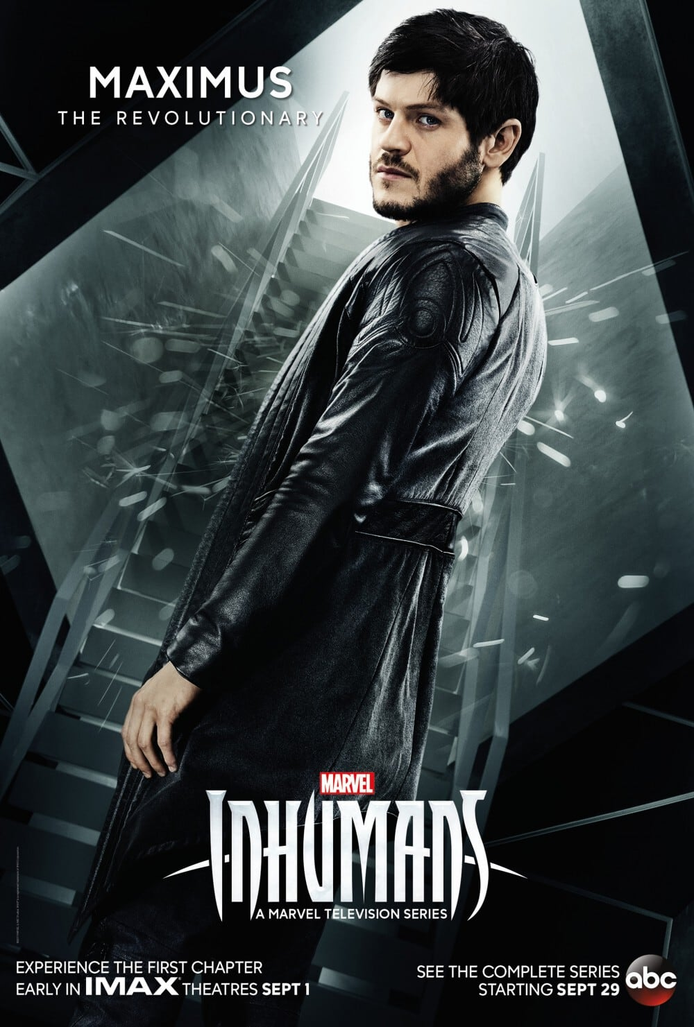 Marvel's Inhumans - New Character Poster Maximus