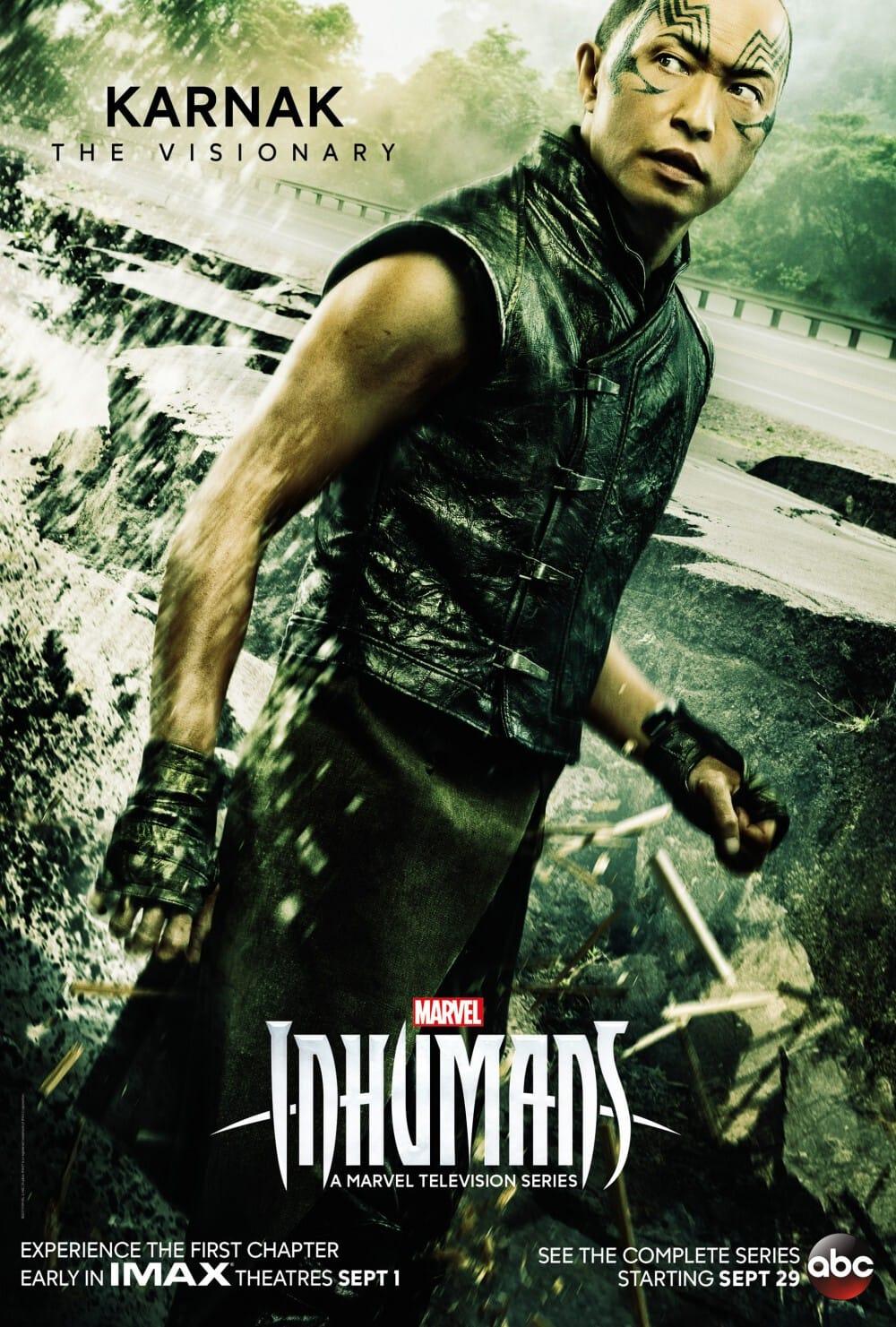 Marvel's Inhumans - New Character Poster Karnak