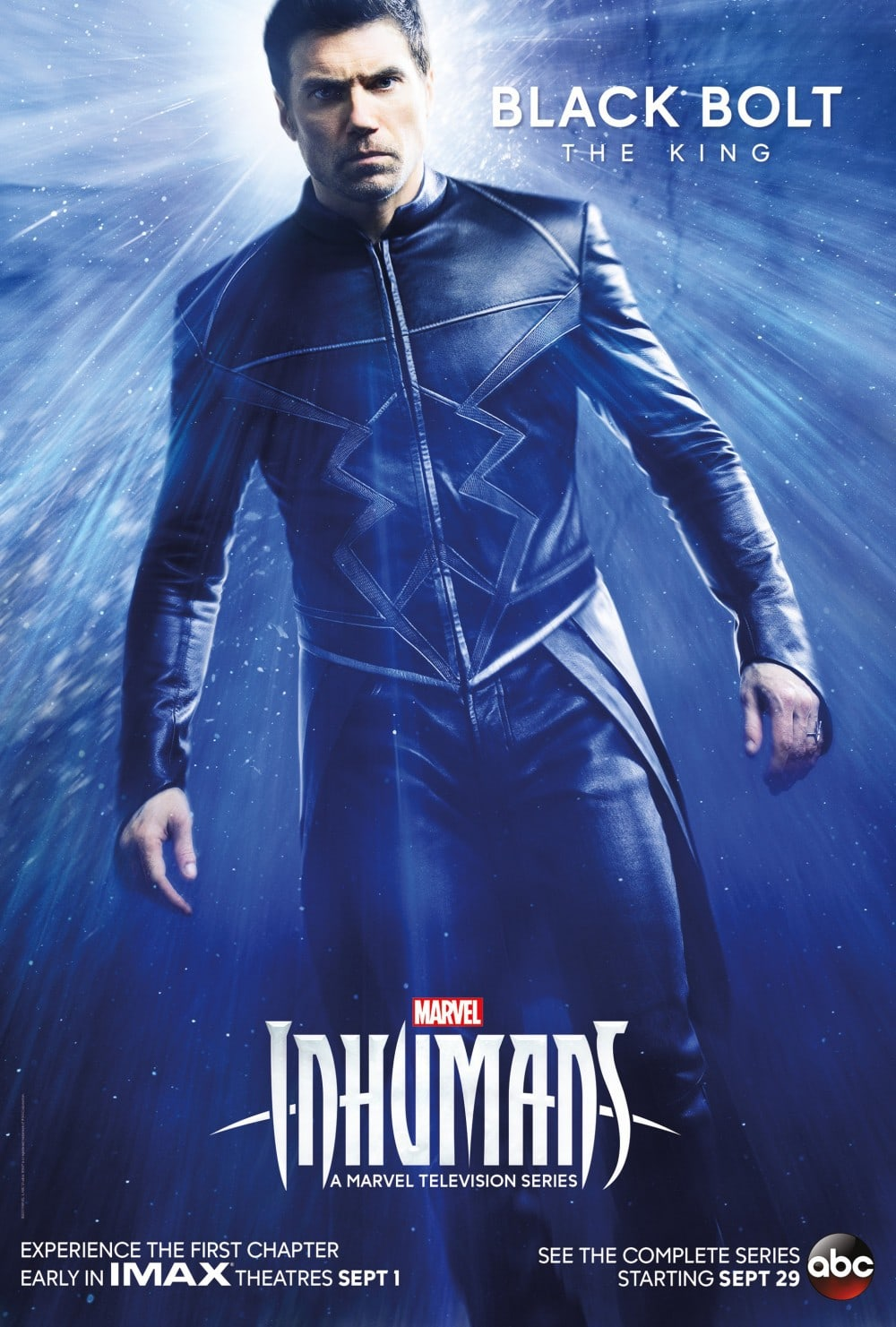 Marvel's Inhumans - New Character Posters and Trailer Black Bolt