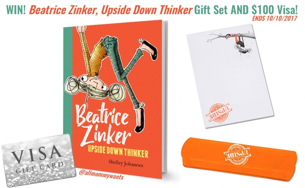 Beatrice Zinker, Upside Down Thinker Book Gift Set and $100 Visa Gift Card Giveaway