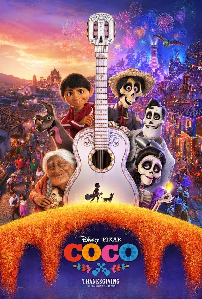 Disney • Pixar Coco Poster