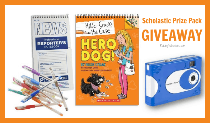 Scholastic Prize Pack Giveaway