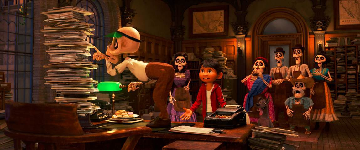 Disney • Pixar Coco still