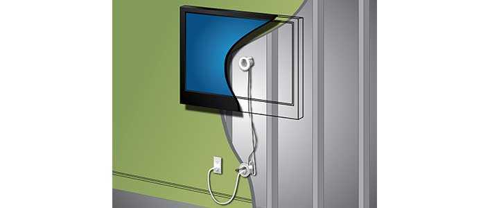 Legrand Makes In-Wall TV Power Easy