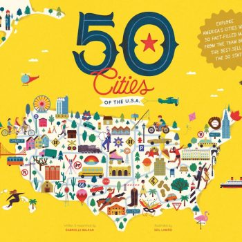 50 cities of the USA