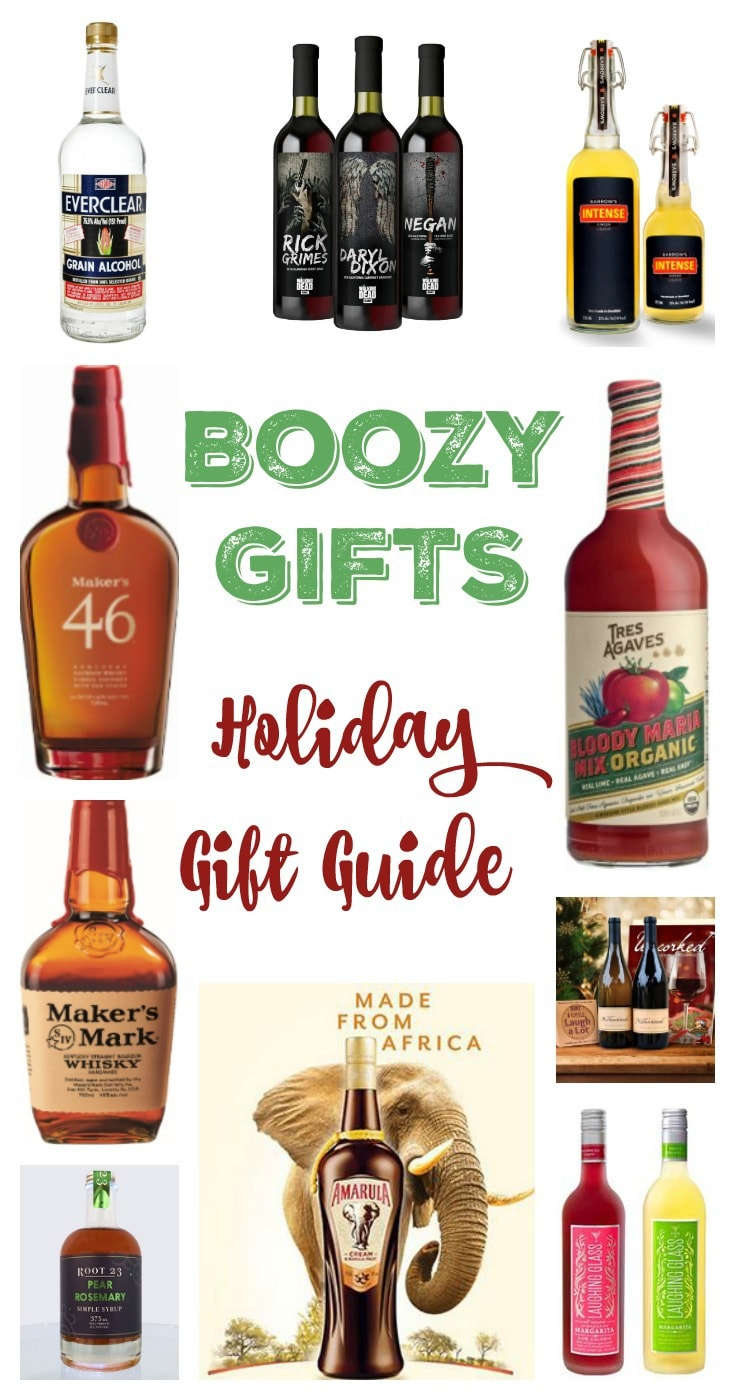13+ Ideas: Holiday Gift Guide Boozy Gifts 2017