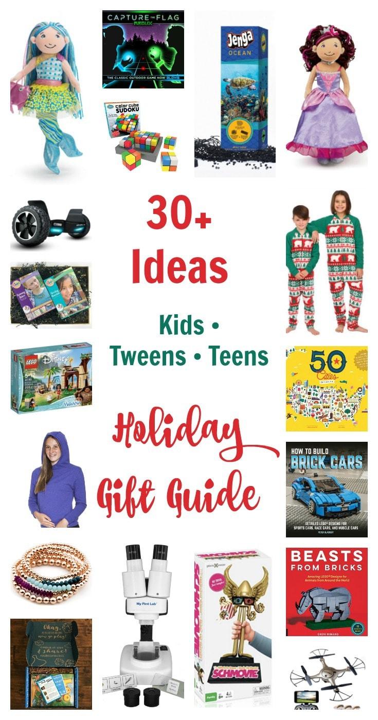 Holiday Gift Guide Kids Tweens Teens