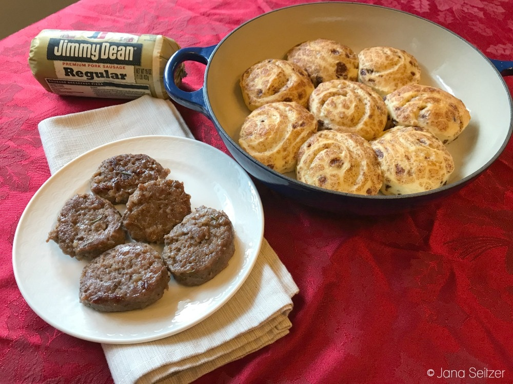 Celebrate Holiday Mornings with Jimmy Dean® Refrigerated Sausage