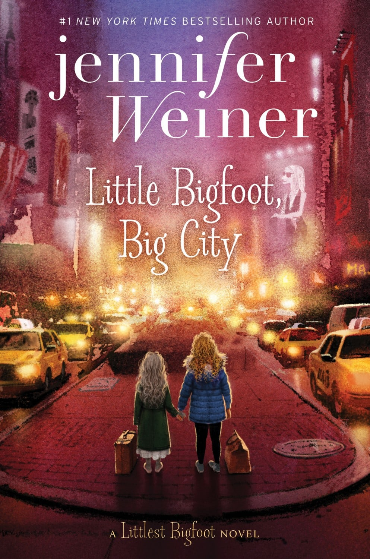 "My Girl Power Bookshelf - ""The Littlest Bigfoot"" Series"