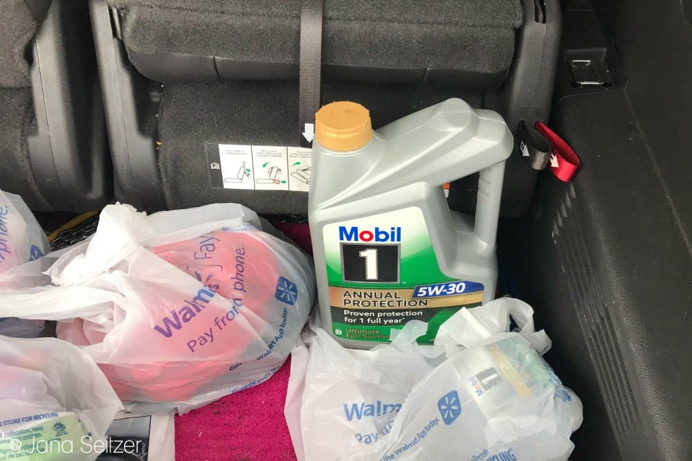 Car Care Essentials - Oil Change with Mobil 1 Annual Protection Motor Oil