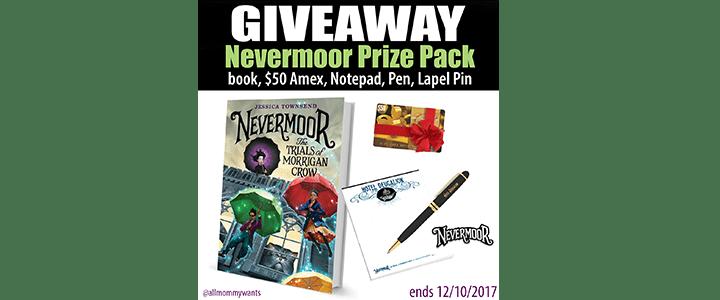 Nevermoor $50 Visa Giveaway