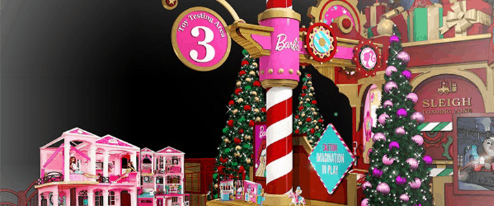 Visit Santa's Toy Factory This Holiday Season