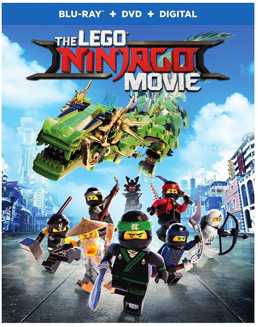 The LEGO NINJAGO Movie on Blu-Ray and DVD