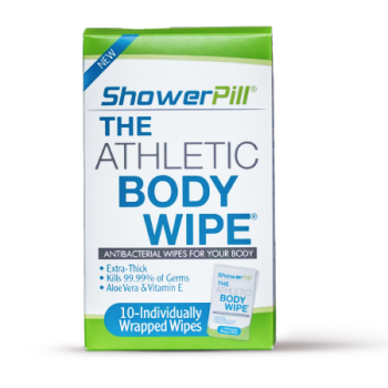 showepill wipes