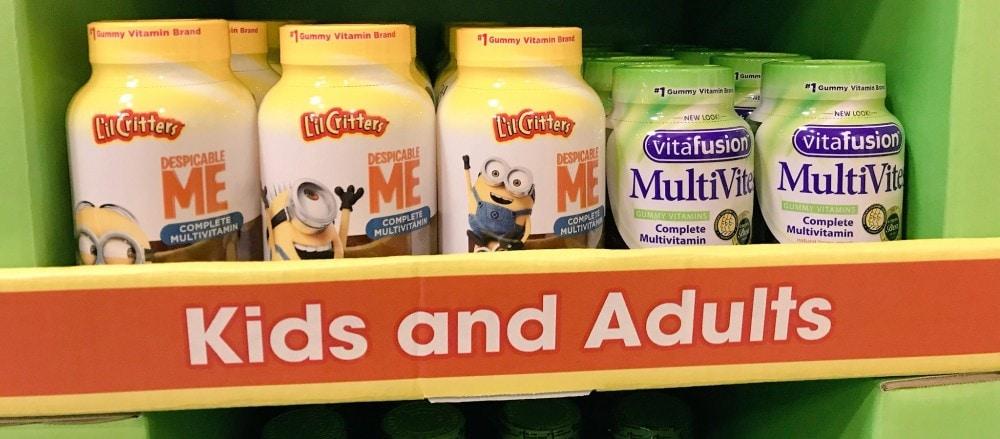 vitafusion kids and adults