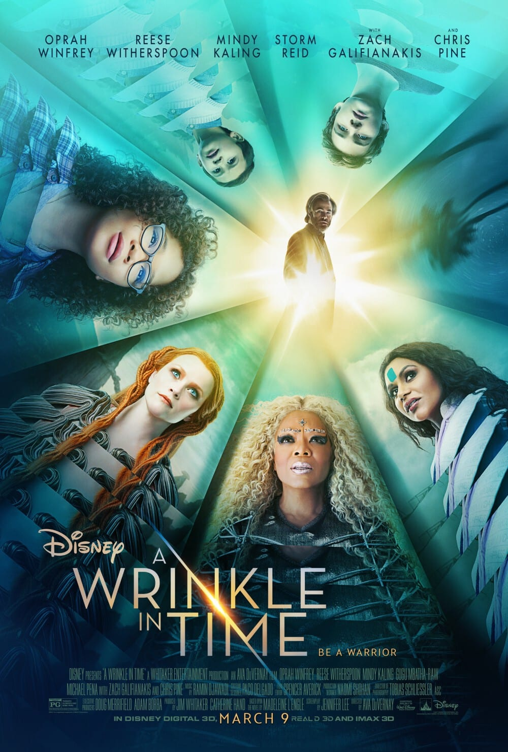 A Wrinkle In Time - poster