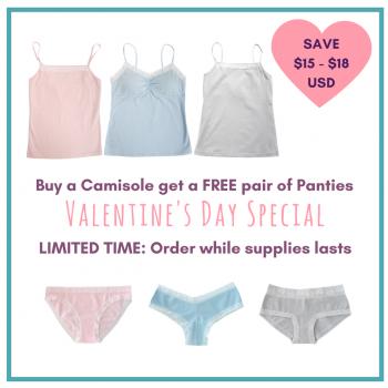ikotton cami and panties