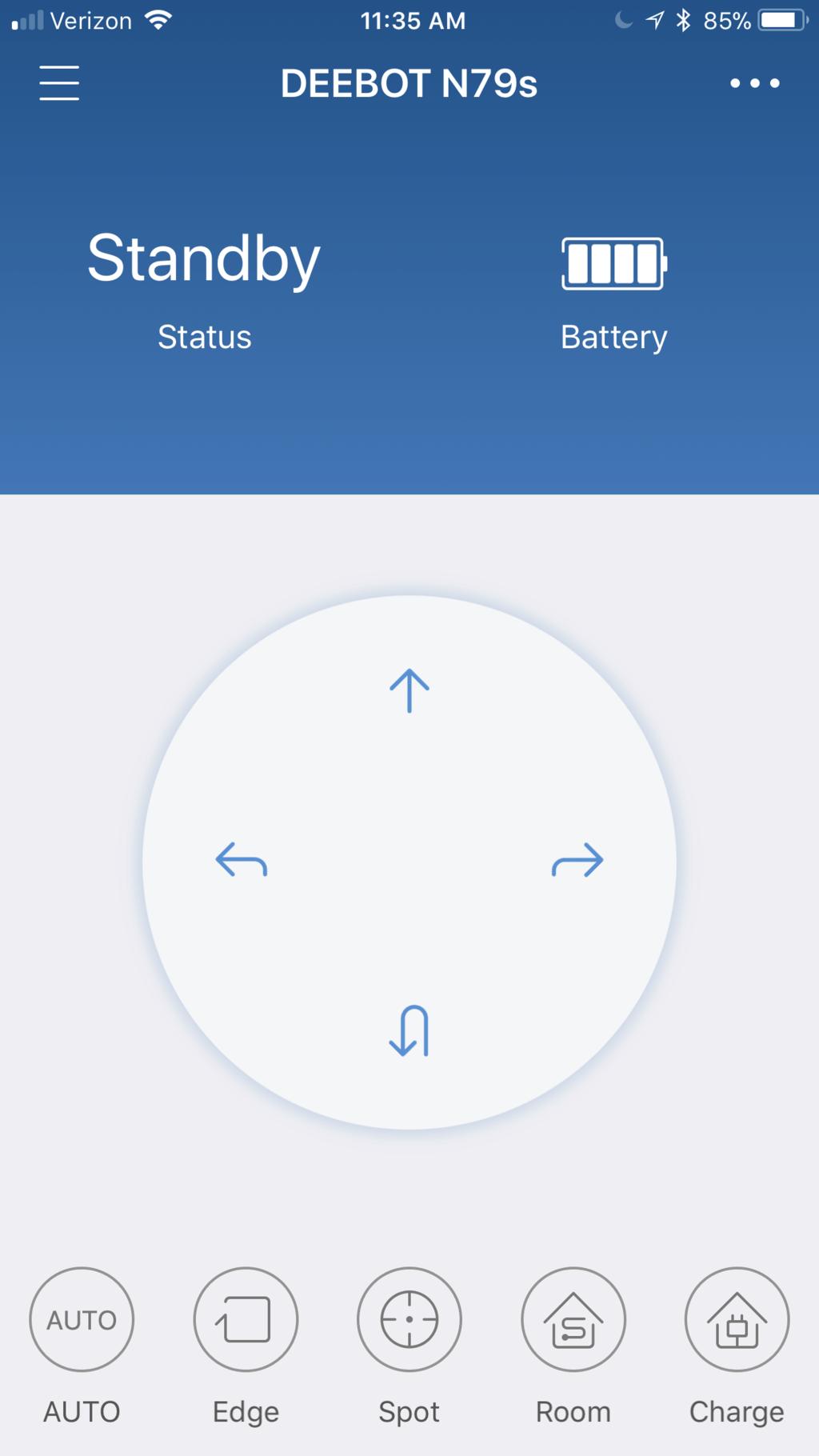 ECOVACS DEEBOT N79S app