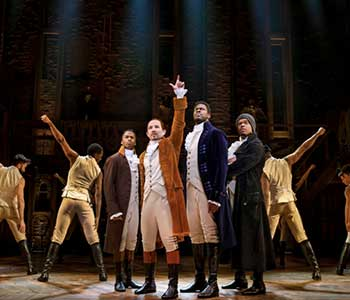 Lottery Tickets Available for HAMILTON in Portland