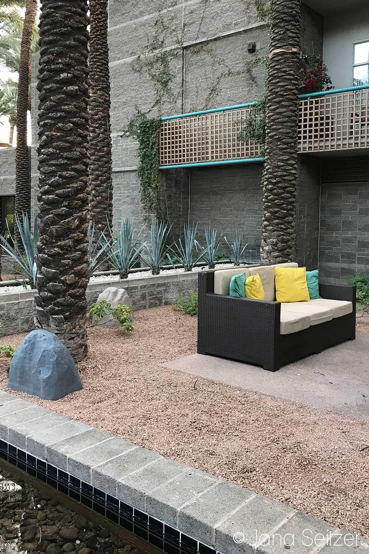 Girls Getaway at the Hyatt Regency Scottsdale Resort & Spa at Gainey Ranch couches