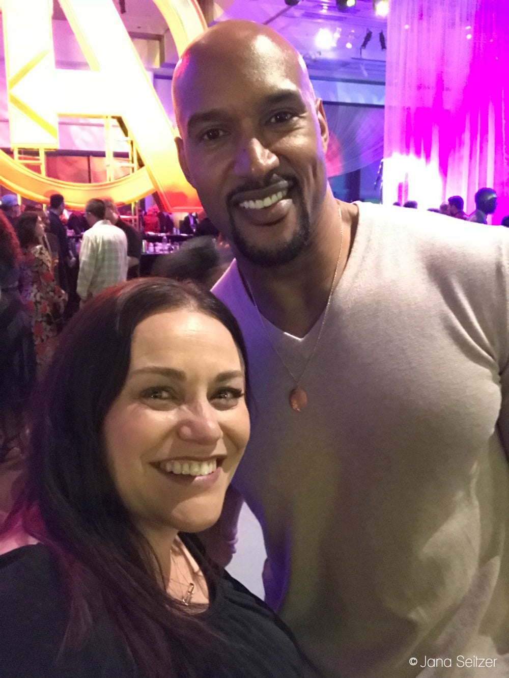 Henry Simmons and Jana Seitzer