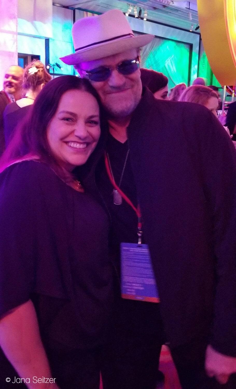 Michael Rooker and Jana Seitzer