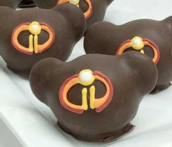 Mickey-Shaped Incredibles Cake Balls