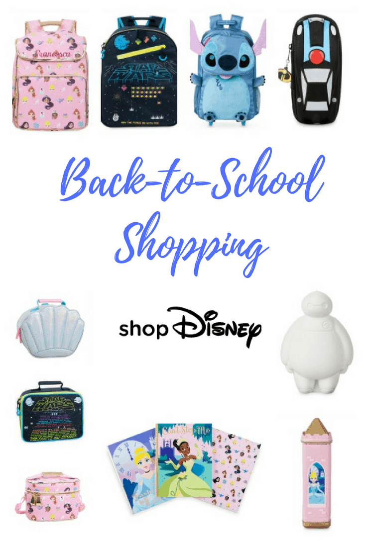 Back-to-School with shopDisney