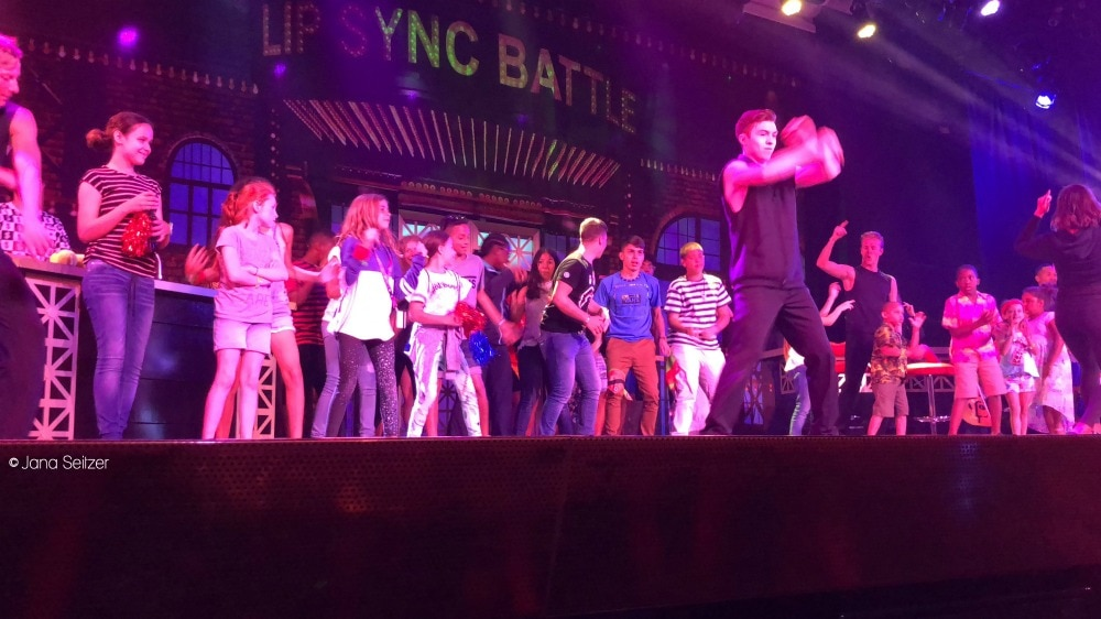 Best Cruise Activities for Tweens and Teens - Carnival Cruise - Lip Sync Battle
